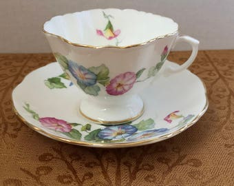 Hammersley China Teacup and Saucer