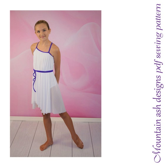 Greek Costume Pattern Leotard Pattern Dance Costume Pattern