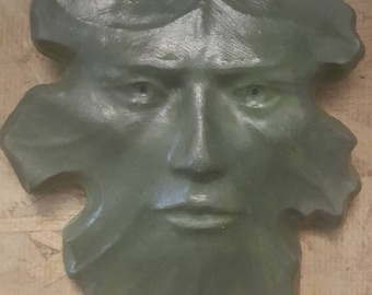 Concrete Green man Leaf