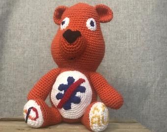 Autistic Pride Autism Toys Neurodiversity Autism Acceptance Autistic Artist Kids Autism Awareness Gifts Autism Bear Red Instead LIUG