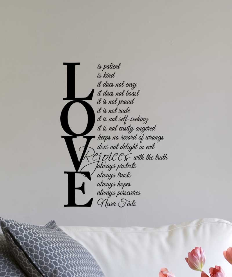 Love Is Kind Quote Fair Love Is Patient Love Is Kind 1 Corinthians 1347 Inspired