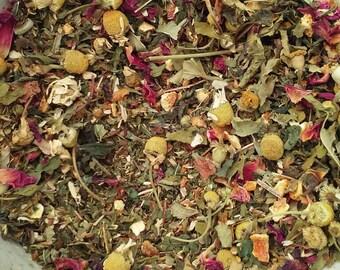 Rest & Restore Tea -  herbal tea, relaxing herbal blend, loose leaf tea