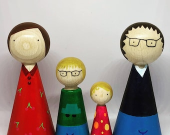 Cone Dolls Family Large//Details
