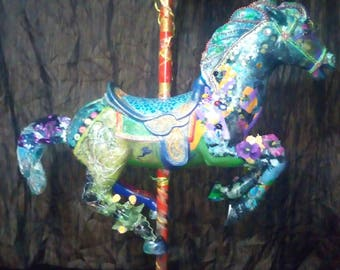 Extravagant Carousel Horse