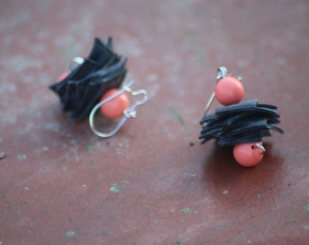 inner tube earrings