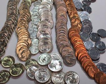 ESTATE(30 Items/Lot) 1930s/1940s Gem BU Silver+Lincolns+Mercury+Washington++%35