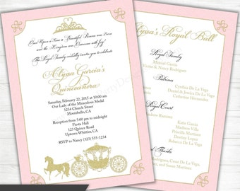 Sweet 15 invitation etsy quinceanera invitation stopboris