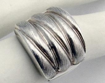 SaLe! sALe! Sterling Silver Ring Modernist