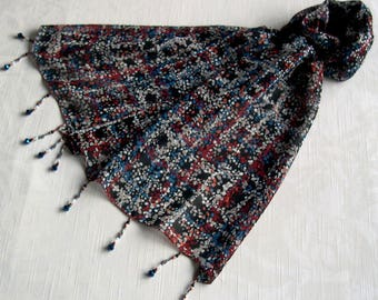 Scarf pin / scarf jewel REF. 201 - abstract pattern