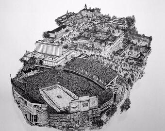 Auburn University-Jordan Hare Stadium- 2017