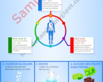 French - Electric Foods Infographic Guide