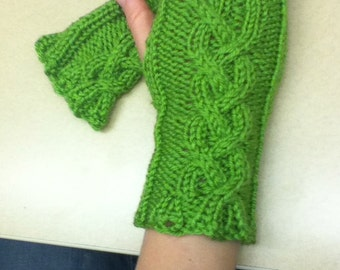 Braid Cable Wristwarmers