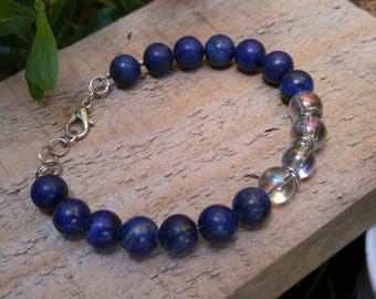 Blue Lapis Lazuli Gemstone Bracelet