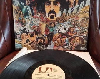 Frank Zappa 200 Motels  Vintage Vinyl Record United Artists Records LP / Crate Digger / Vinyl Lover/ Turn Table Metal Music Cult Rock n Roll