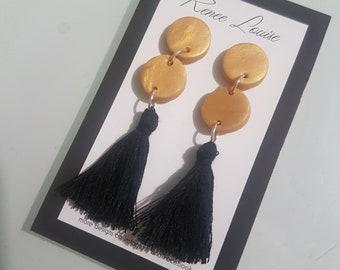 Mini gold dangles