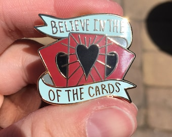 Heart of the Cards Yu-Gi-Oh inspired Enamel Pin