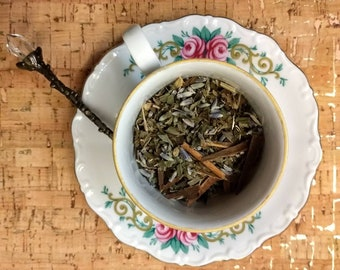 Mental Mourning; herbal tea blend