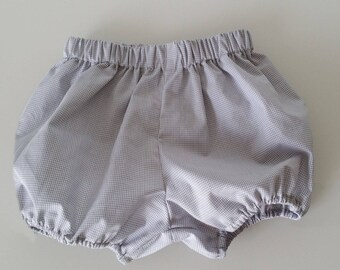 Gray bloomer for boy