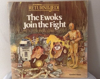 STAR WARS Return Of The Jedi Ewoks Join The Fight 1983 First Edition
