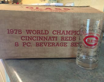 Cincinnati Reds Glasses
