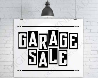 Garage Sale Kit Printable Pack Yard