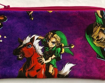 The Legend of Zelda Zipper Pouch: Videogames, Geekery.