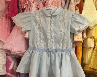 50s Baby Dress 12/18 Months