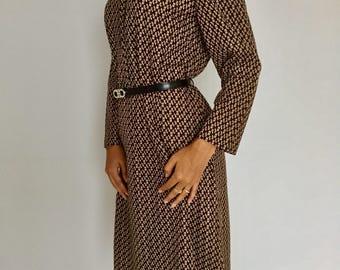 1970s vintage dress smart/casual, authentic