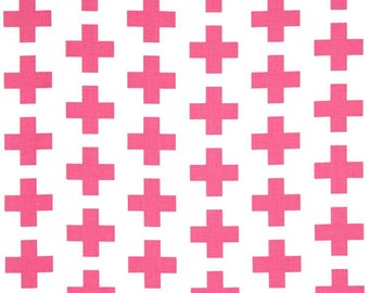 AHK-15036-10 PINK by Emmie K from Geo Pop Canvas Fabric by the Yard from Robert Kaufman