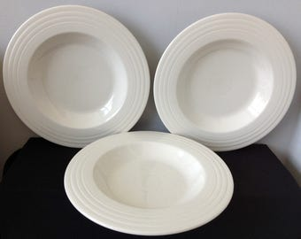 Post-1986 Ivory Fiestaware Individual Pasta Bowl - Only 2 Left!!!