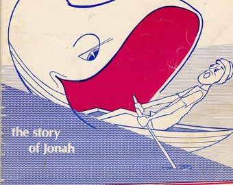 A Musical Play for Youth - The STORY OF JOHAH - You Can't Run Away from the Lord - Book & Lyrics by Ed Seabough - Staging, Costumes, Props