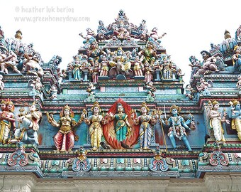Singapore Photography - Sri Veeramakaliamman Temple - Indian Hindu - Asian Fine Art Photography