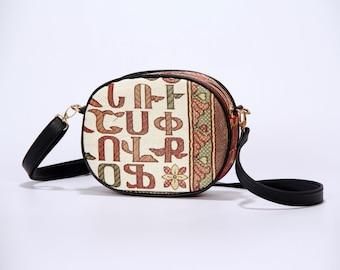 Armenian Handmade Bag - Armenian Alphabet - Letters – Armenian Ornaments