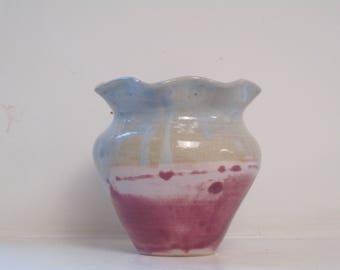 Rippled Vase