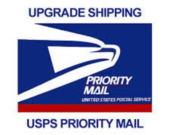 Upgrade to Priority Mail for shipping already .75