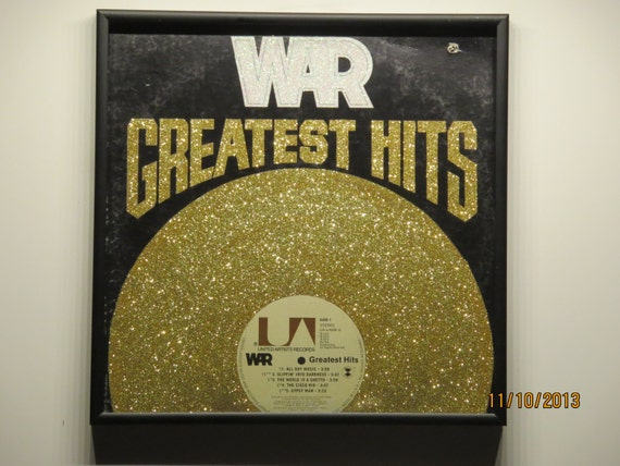 Glittered Record Album - WAR - Greatest Hits