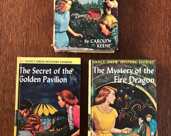 Nancy Drew Books 36, 37, and 38