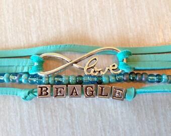 Bracelet I love my Beagle