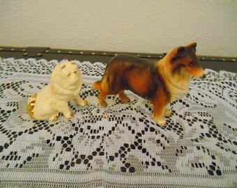Vintage Lassie and Friend
