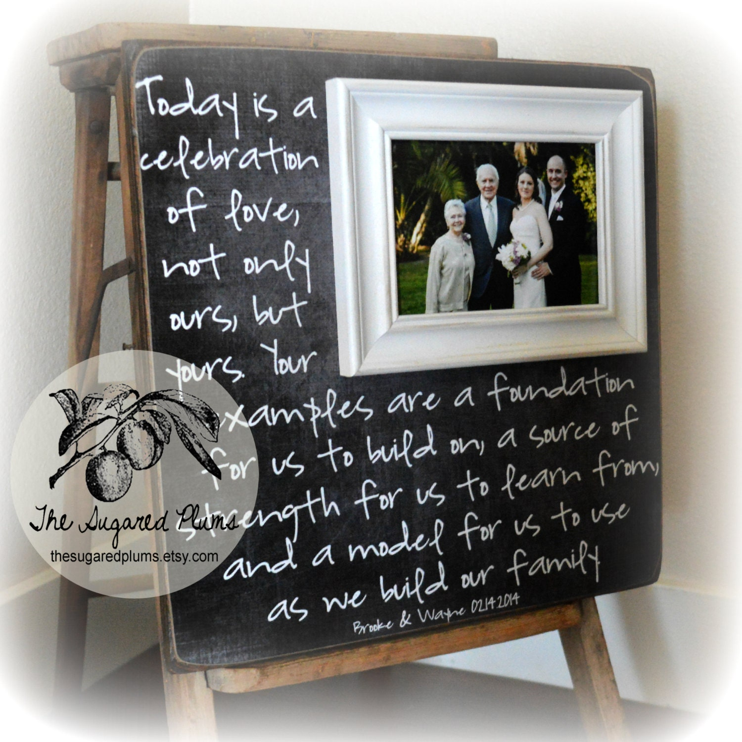 Parents Gift Wedding: Parents Thank You Gift Parents Thank You Gift Wedding
