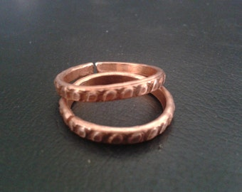copper magnetic health ring