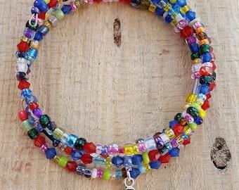 Multi colored bracelet