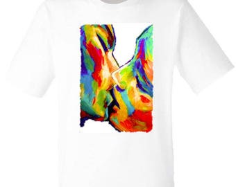 T-shirt for woman and man Kiss