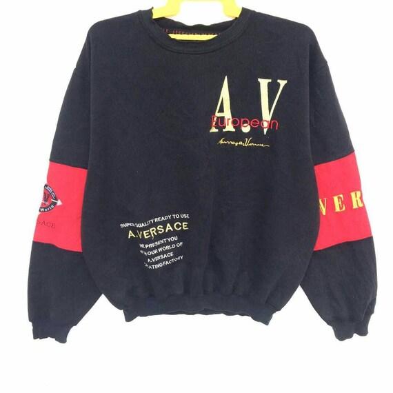 vintage alfredo versace sweatshirt large mens size gMzDwCNP