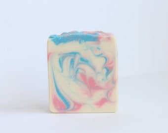 Beautiful Day Bar Soap - Cold Process Soap,  Baby's breath fragrance
