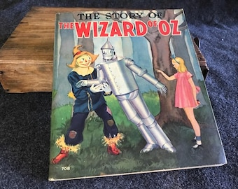 The Story of the Wizard of Oz pictorial 1939