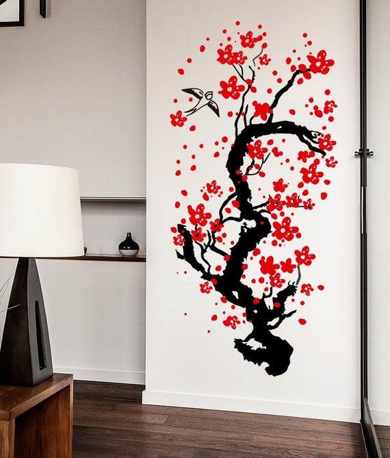 Cherry Tree Wall Sticker