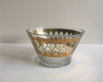 Culver Glass Ice Bucket.