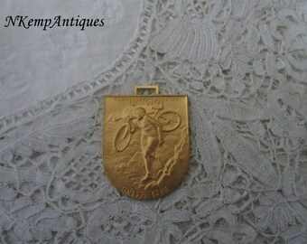 Old cycling medal/pendant