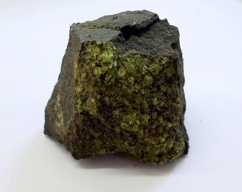 Peridot on Basalt